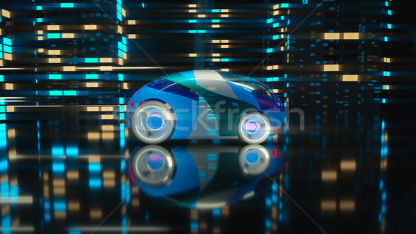 Stock photo: Car concept - 3D Illustration