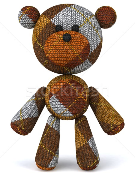 Teddybär Baby Spielzeug Geschenk Tier Objekte Stock foto © julientromeur