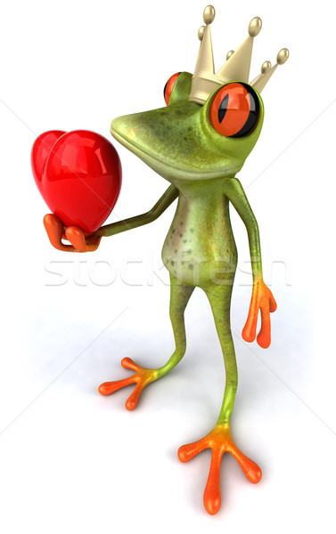Frog and love Stock photo © julientromeur