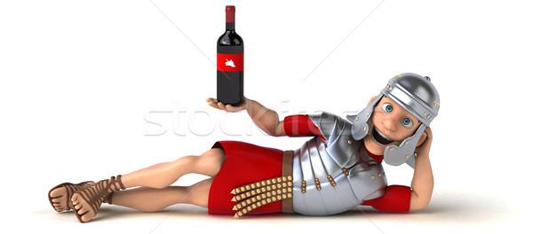 Roman soldier Stock photo © julientromeur