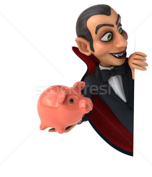 вампир искусства рот Финансы губ черный Сток-фото © julientromeur
