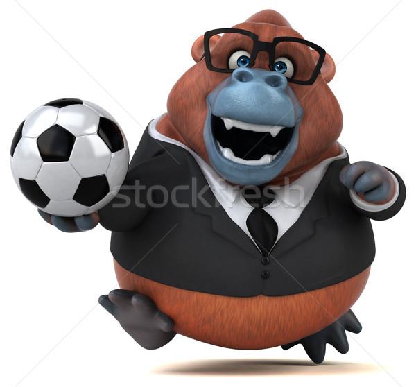 Jókedv 3d illusztráció üzlet futball természet futball Stock fotó © julientromeur