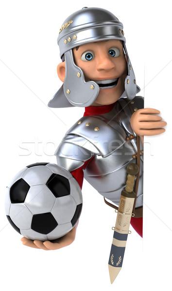 Romano soldado esportes bola espada lutar Foto stock © julientromeur