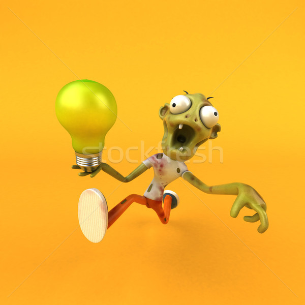 Fun zombie - 3D Illustration Stock photo © julientromeur