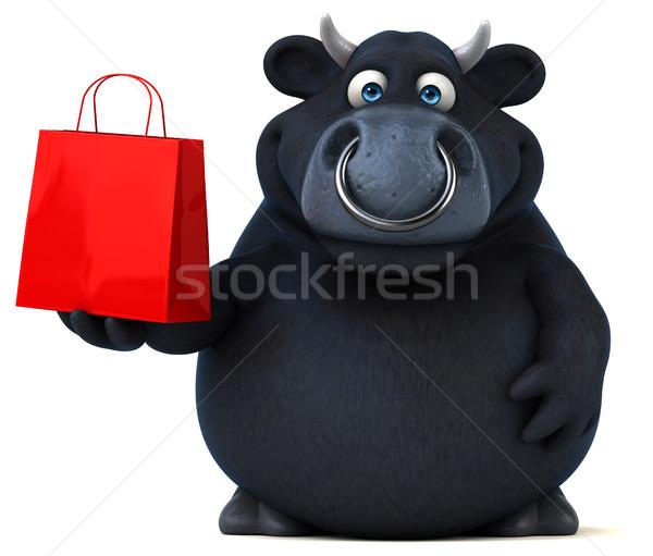 黒 牛 3次元の図 髪 牛 ファーム ストックフォト © julientromeur