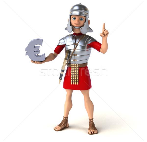Romano soldado negócio dinheiro financiar espada Foto stock © julientromeur