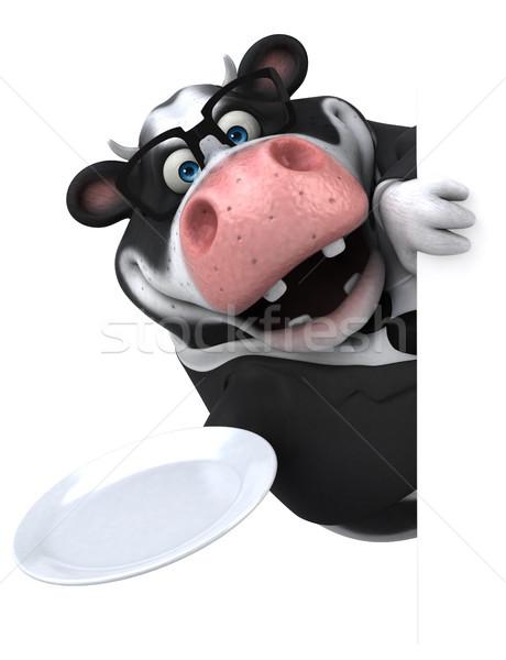 Diversión vaca 3d naturaleza traje queso Foto stock © julientromeur