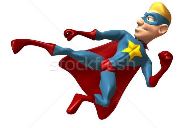 Superhero Stock photo © julientromeur