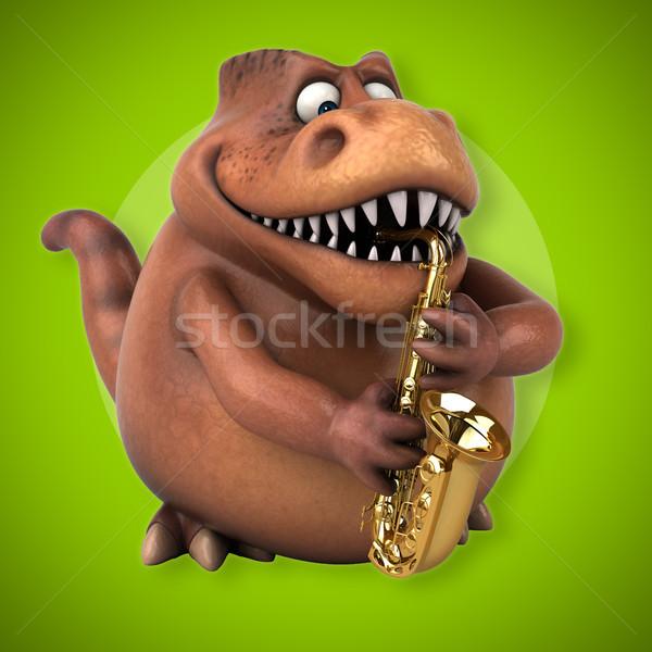 Fun Trex - 3D Illustration Stock photo © julientromeur