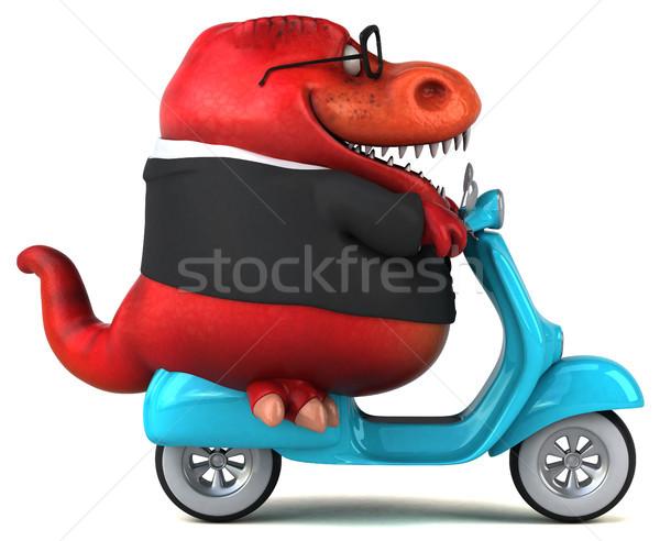 Zabawy 3d ilustracji model rowerów retro maszyny Zdjęcia stock © julientromeur