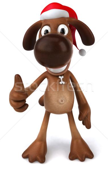 весело собака собаки животного Рождества домашние Сток-фото © julientromeur