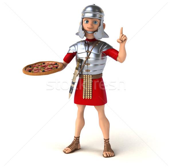 Romano soldado espada lutar exército história Foto stock © julientromeur