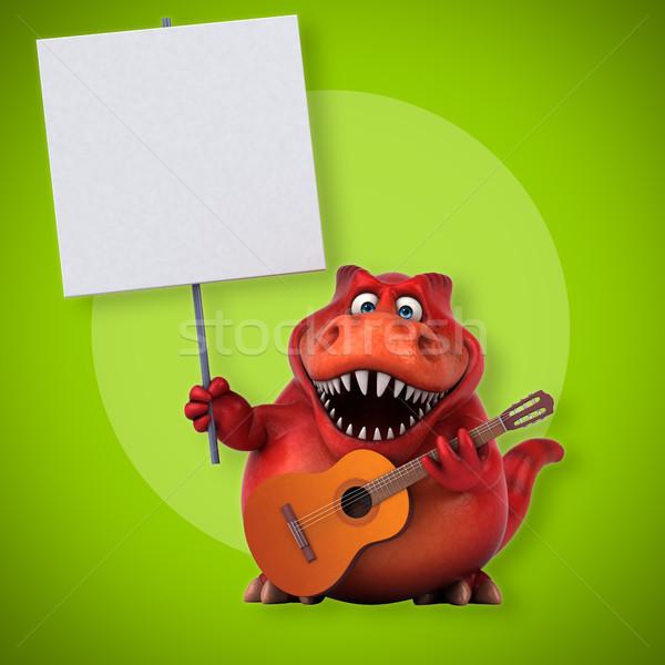 Diversión 3d concierto dientes jazz animales Foto stock © julientromeur