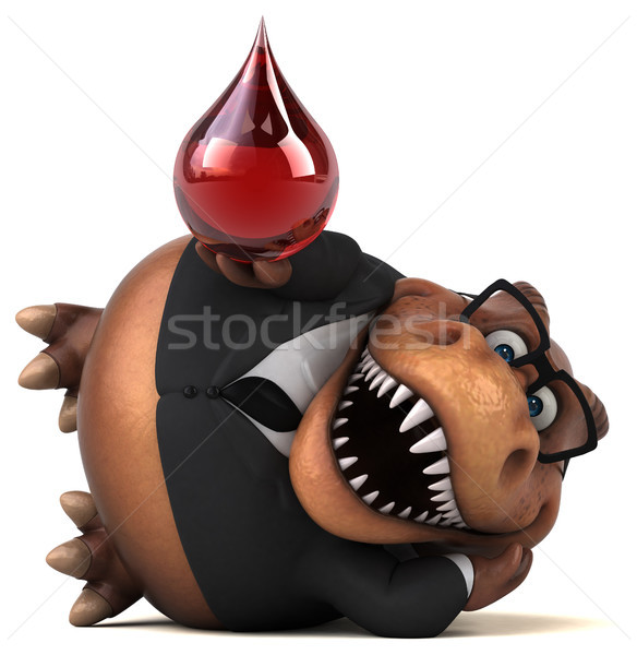 Eğlence 3d illustration iş kan işadamı kırmızı Stok fotoğraf © julientromeur