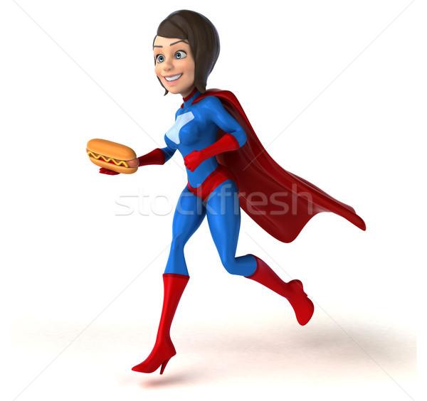 Süper kadın vücut kızlar hızlandırmak güç Stok fotoğraf © julientromeur
