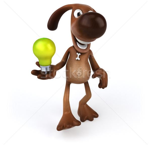 Zabawy psa psów wyścigu zwierząt pomysł Zdjęcia stock © julientromeur