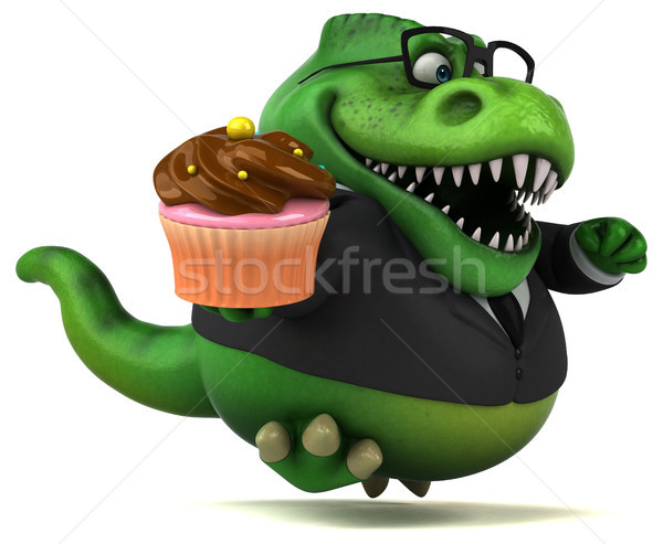 весело 3d иллюстрации бизнеса шоколадом бизнесмен Финансы Сток-фото © julientromeur