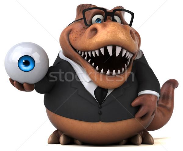 Diversão ilustração 3d negócio olho empresário financiar Foto stock © julientromeur