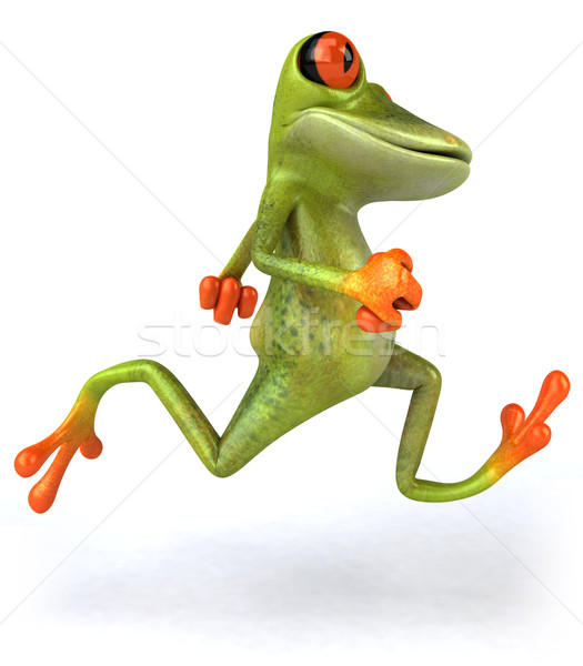 Frog running Stock photo © julientromeur