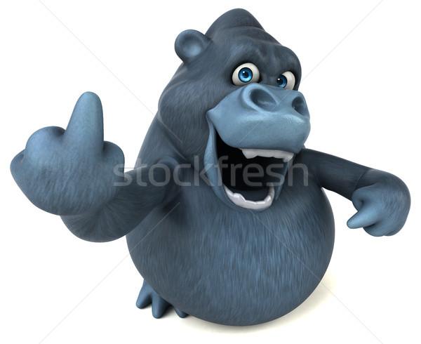 Diversión gorila 3d naturaleza África funny Foto stock © julientromeur
