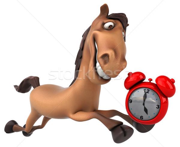 Fun horse Stock photo © julientromeur