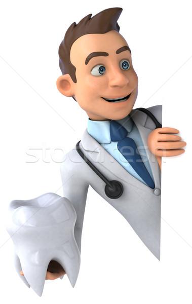 Eğlence doktor kalp sağlık hastane bilim Stok fotoğraf © julientromeur