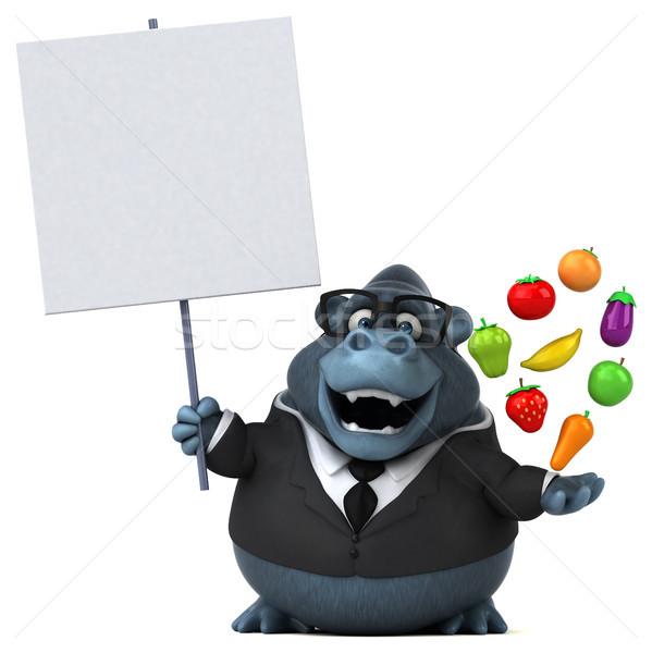 Diversión gorila 3d negocios naturaleza empresario Foto stock © julientromeur