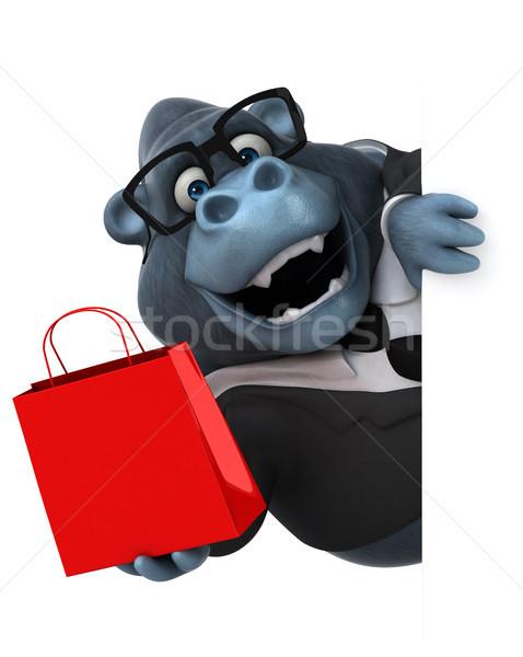 Diversión gorila 3d naturaleza empresario funny Foto stock © julientromeur