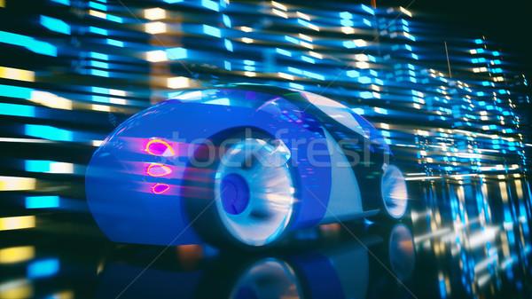 Stock photo: Car concept - 3D Illustration