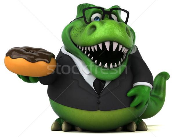 Сток-фото: весело · 3d · иллюстрации · бизнеса · шоколадом · бизнесмен · Финансы