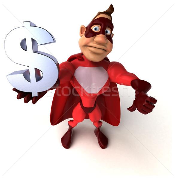 Diversão homem corpo financiar acelerar Foto stock © julientromeur