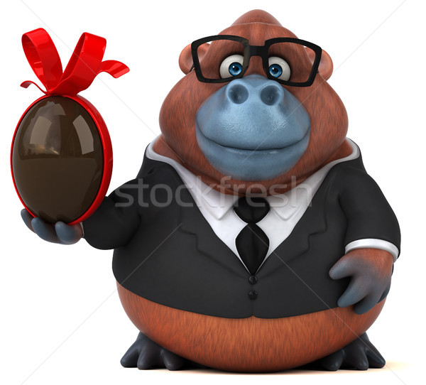Stok fotoğraf: Eğlence · 3d · illustration · iş · doğa · çikolata · yumurta