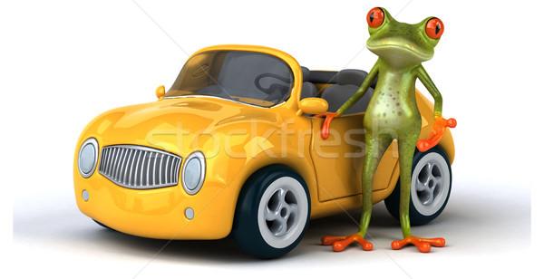 Fun frog Stock photo © julientromeur