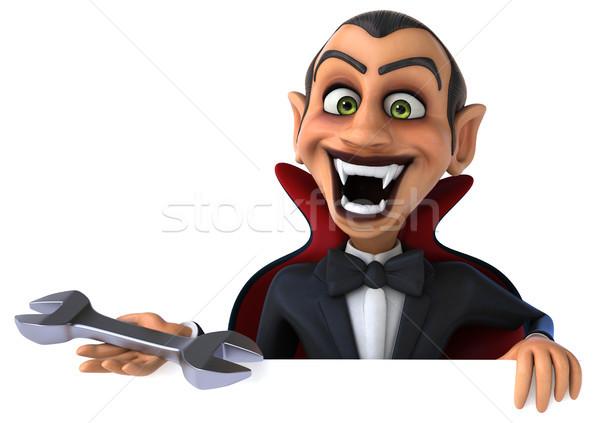 вампир искусства рот работник губ черный Сток-фото © julientromeur