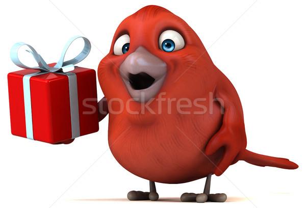 Red bird Stock photo © julientromeur