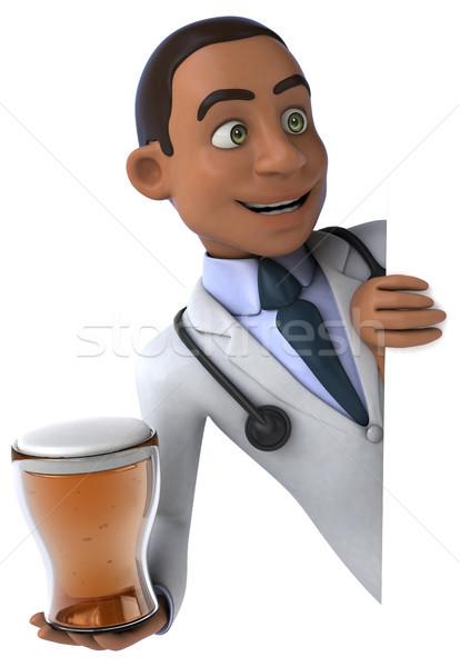 Amusement médecin coeur santé hôpital boire Photo stock © julientromeur