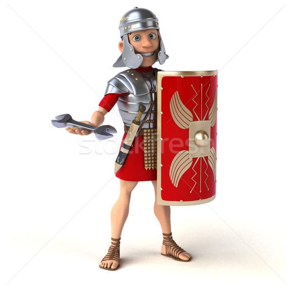 Romeinse soldaat werk zwaard strijd tool Stockfoto © julientromeur