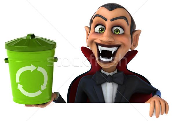 вампир искусства рот губ черный мусор Сток-фото © julientromeur