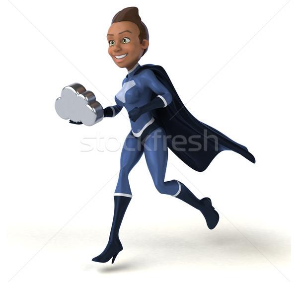Super woman Stock photo © julientromeur