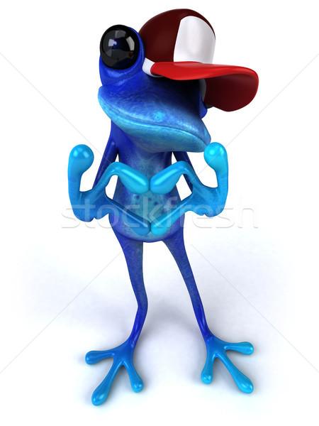 Blue frog Stock photo © julientromeur