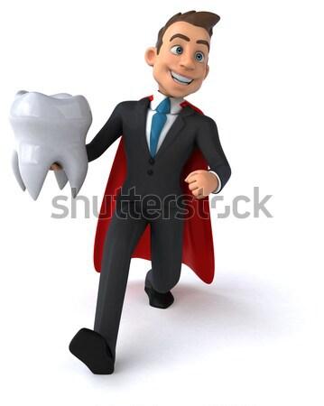 вампир искусства рот губ черный стоматолога Сток-фото © julientromeur