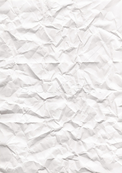 wrinkled paper texture or background Stock photo © Julietphotography