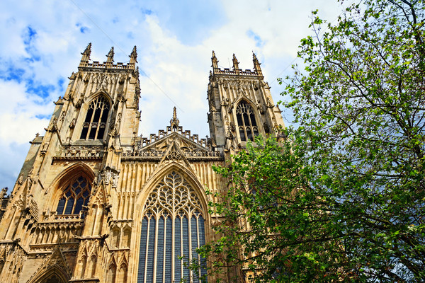 York Minster, gothic cathedral in York  Stock photo © Julietphotography