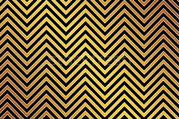 Trendy chevron patterned background, golden, black and white Stock photo © Julietphotography