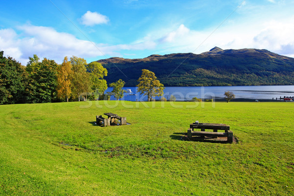 Loch Lomond, Tarbet in October, Scotland, UK Stock photo © Julietphotography