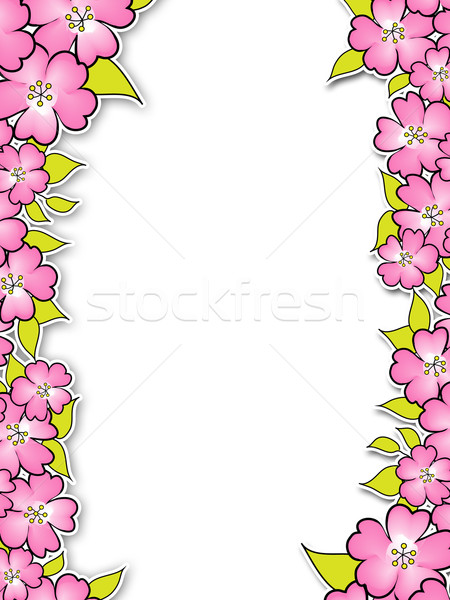 witte achtergrond tekening bloemen - photo #1