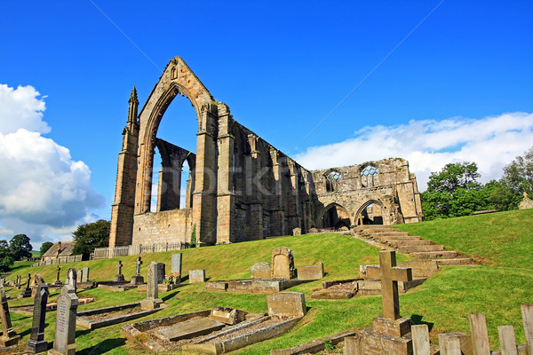 Bolton Abbey in North Yorkshire, England  Stock photo © Julietphotography