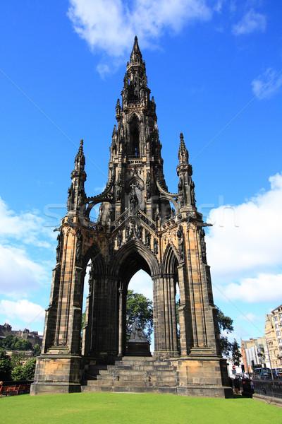 The walter scott monument on princess street, Edinburgh  Stock photo © Julietphotography