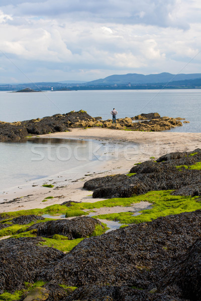 Black Sands beach, Aberdour, Scotland. Stock photo © Julietphotography