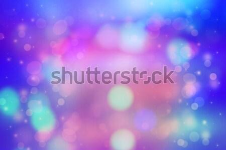 Belo sonhador bokeh luzes abstrato luz Foto stock © Julietphotography
